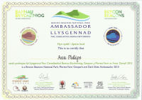 Dark Skies Ambassador Award 2017